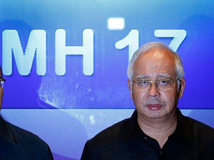 جدة رئيس وزراء ماليزيا كانت على متن الطائرة المنكوبة