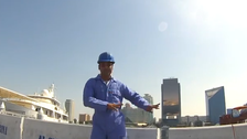 'Happy' in Dubai: Workers dance to Pharrell Williams hit
