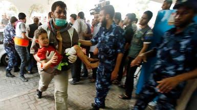 غزة: 72 قتيلا حصيلة قصف حي الشجاعية