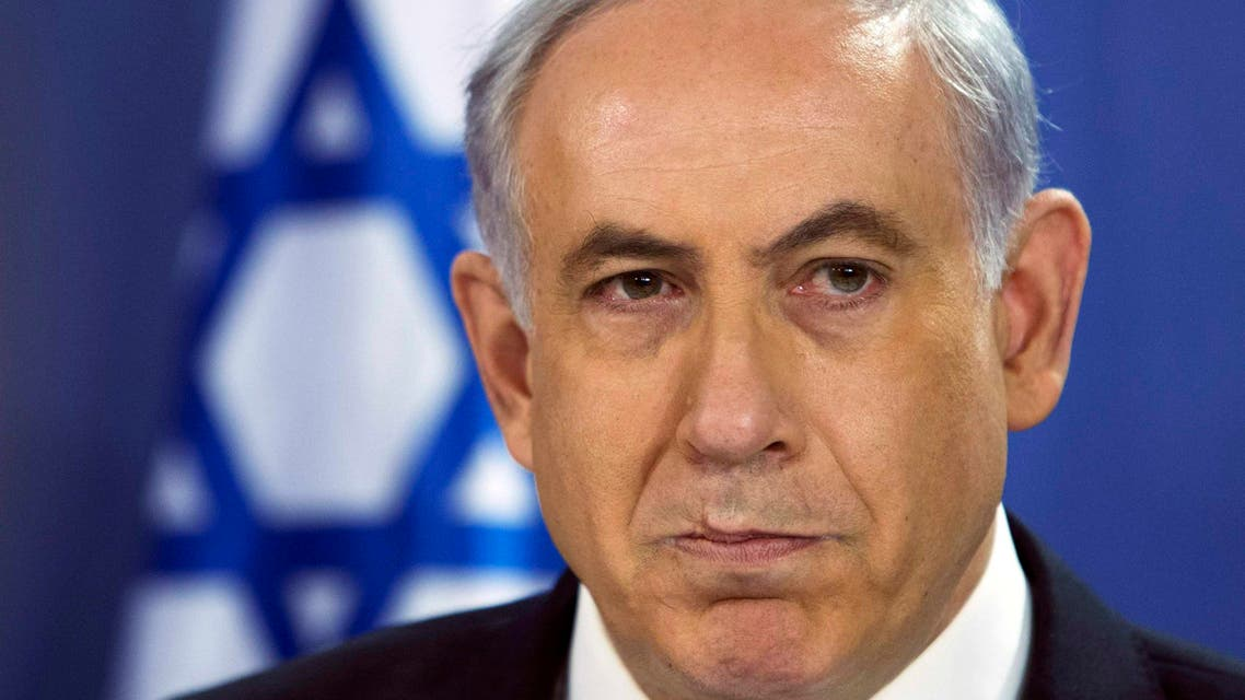 Israeli Prime Minister Benjamin Netanyahu speaks during a cabinet meeting at the defense ministry in Tel Aviv July 18, 2014. (Reuters)