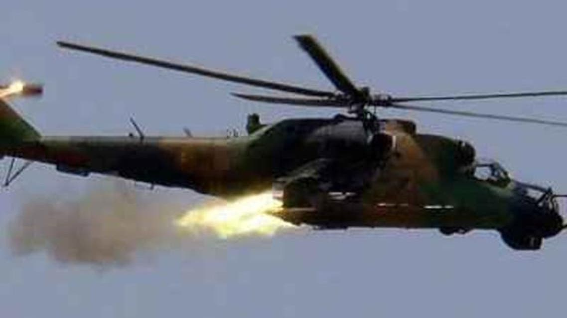 طائرة هيلوكوبتر سورية