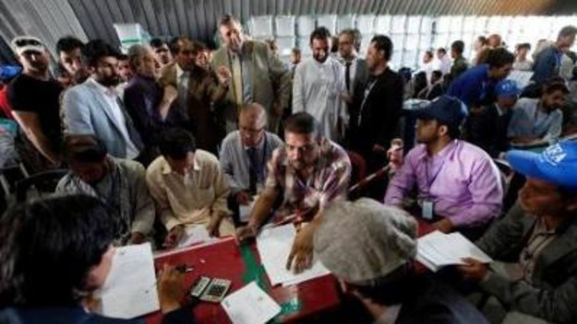 بازشماری آرای افغانستان