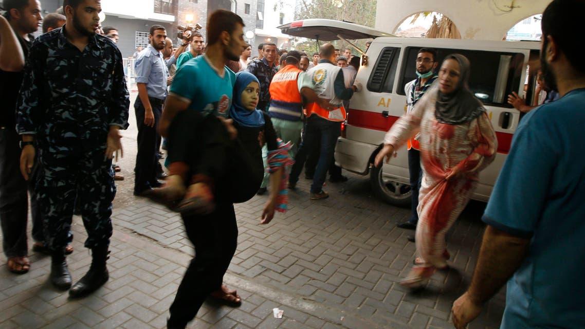 مشتشفى في غزة