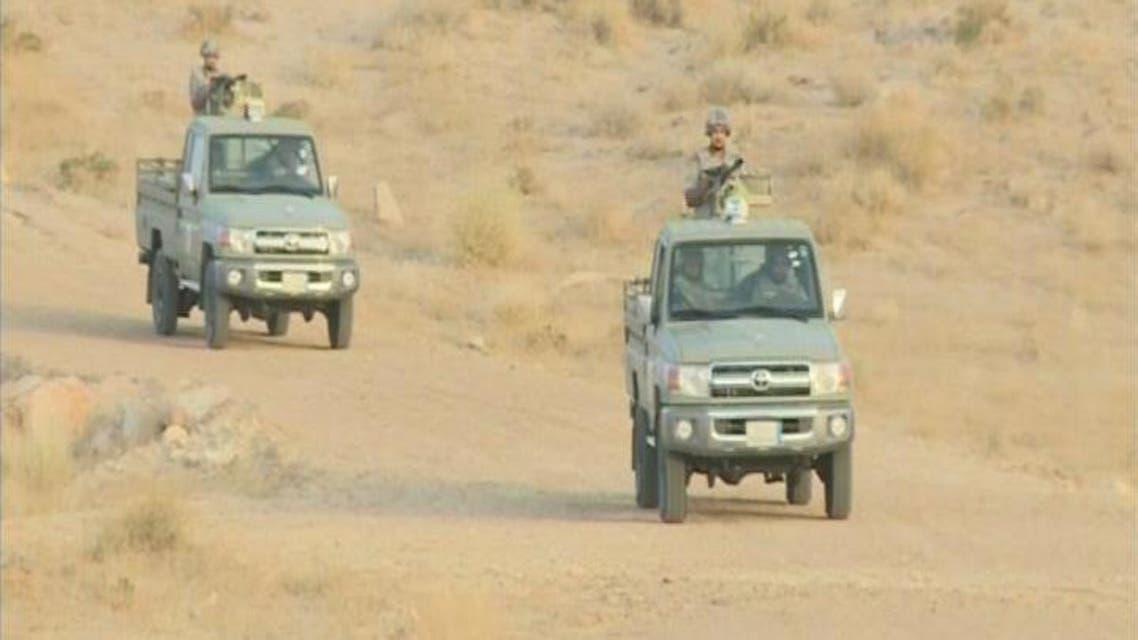 THUMBNAIL_ حرس الحدود يصادر الف قطعة من الاسلحة والذخيرة الحية خلال رمضان