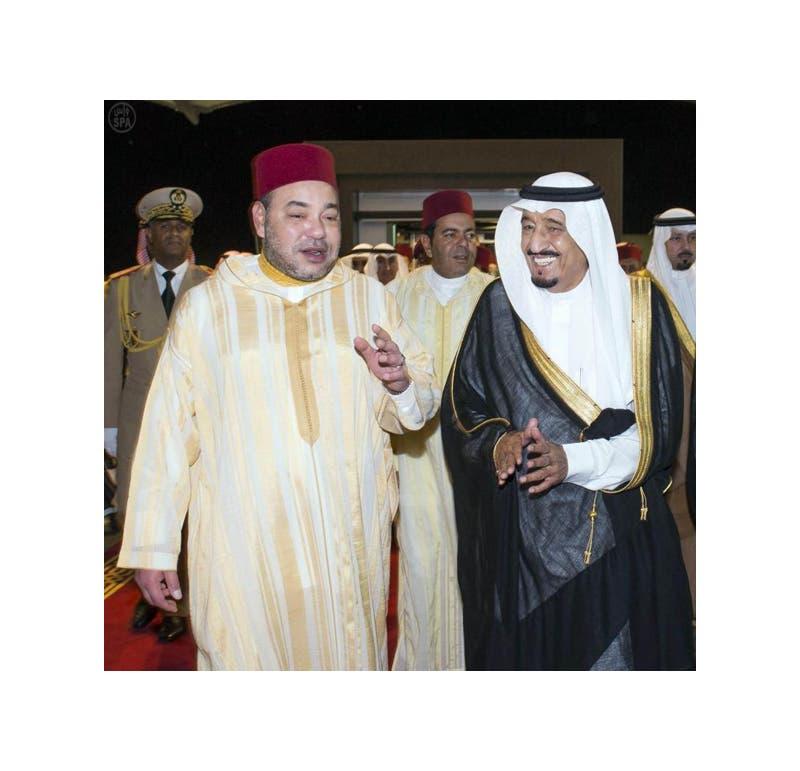 الأمير سلمان بن عبد العزيز والملك محمد السادس