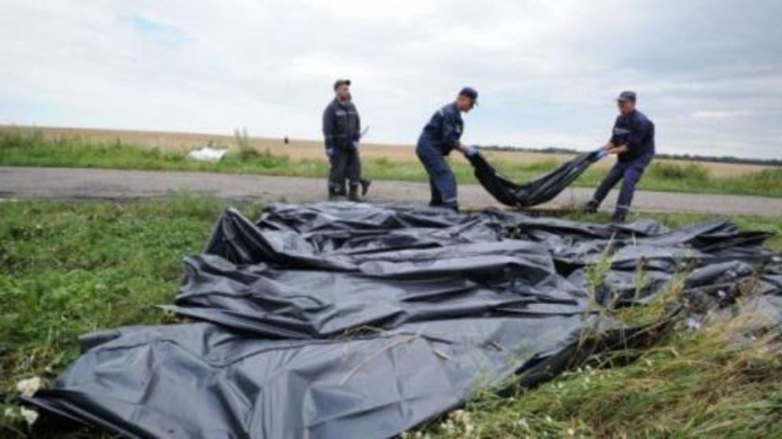 اجساد هواپیمای مالزیایی