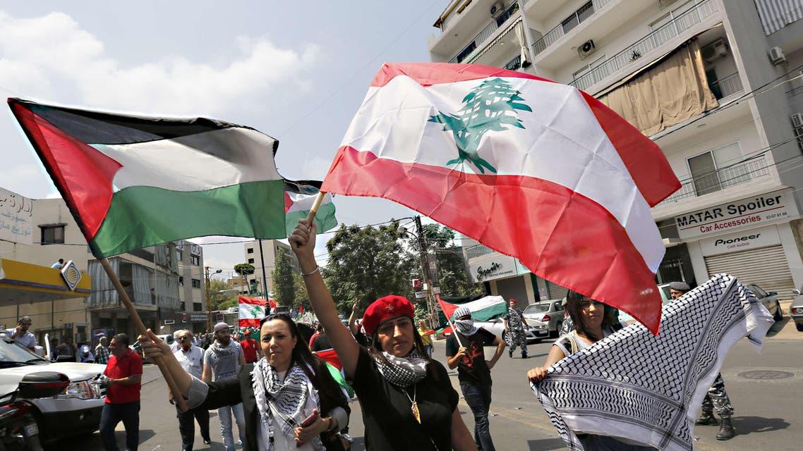 Lebanon Palestine AFP