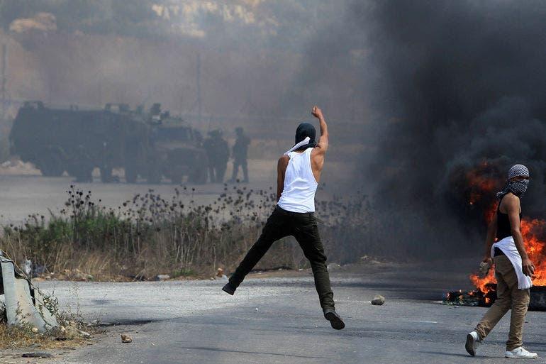 مظاهرات في الضفة الغربية تضامنا مع غزة