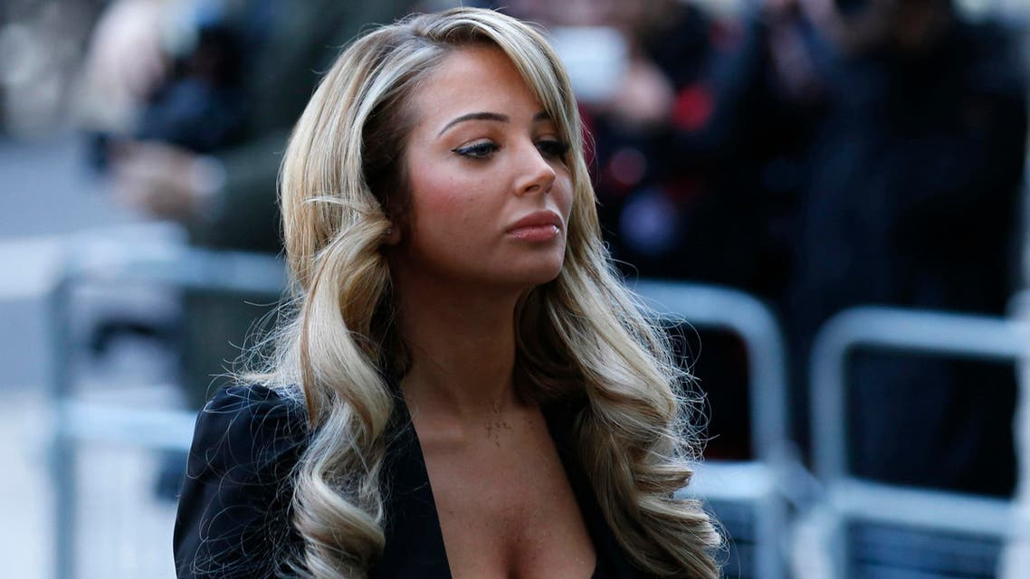 Singer Tulisa Contostavlos arrives at Westminster Magistrates court in central London December 19, 2013. Contostavlos has been charged with a drugs offence. (Reuters)