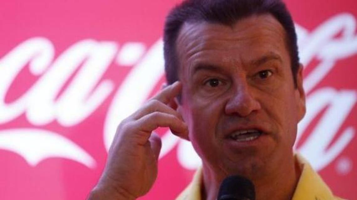 Former soccer player Brazil's Dunga attends a news conference concerning the 2014 World Cup, in Rio de Janeiro July 3, 2014. (Reuters)