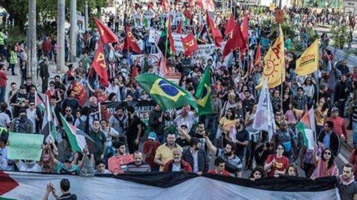 مسيرة في ساو باولو في البرازيل