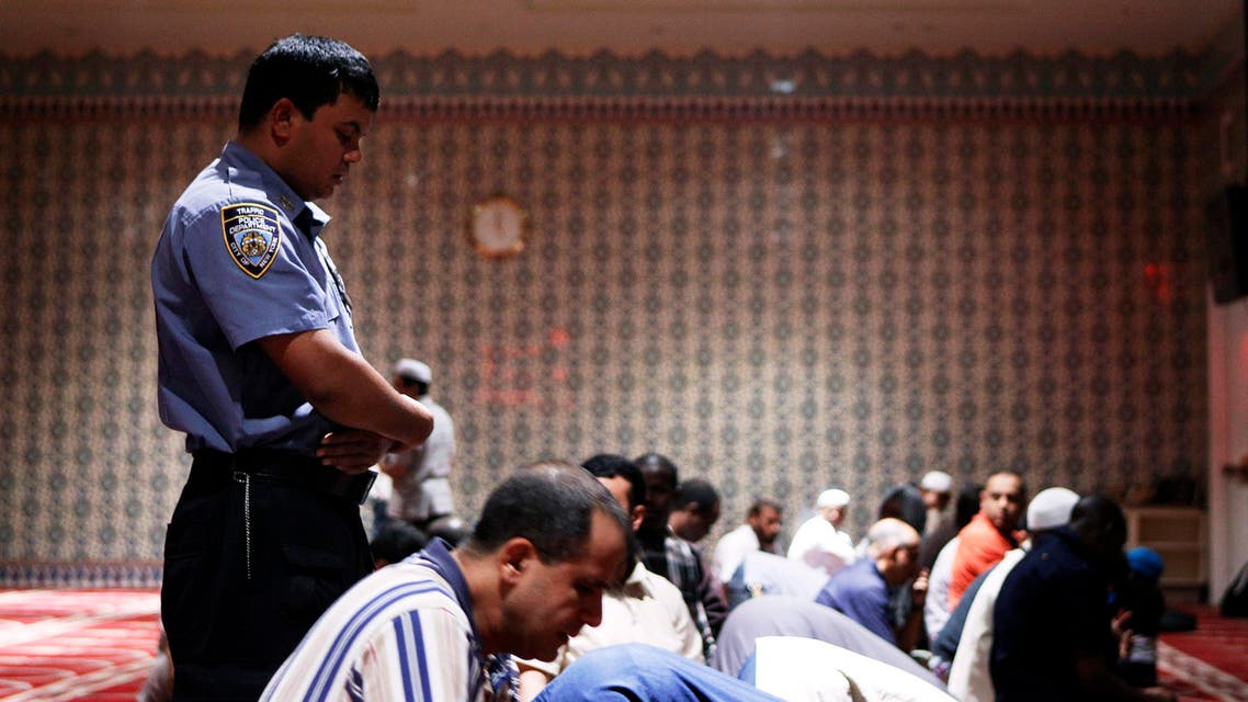 US Muslims pray in NYC mosque