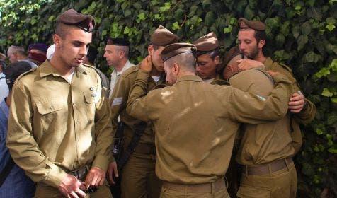 جنازة جنود اسرائيليين قتلوا في غزة