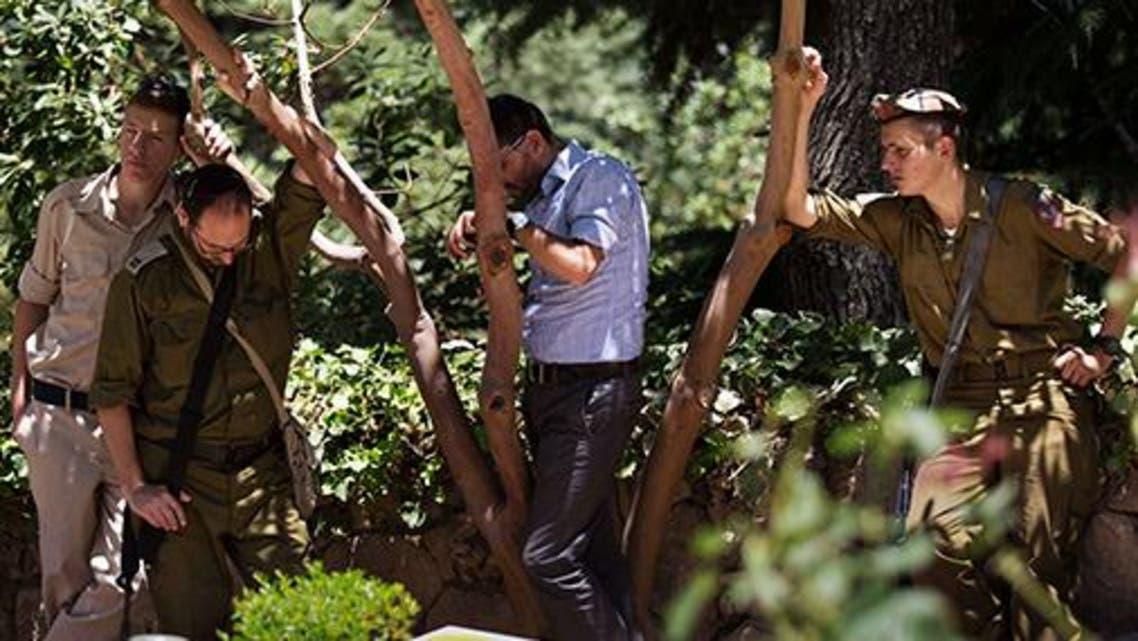 جنازة جنود و ضباط اسرائيليون قتلوا في معارك غزة