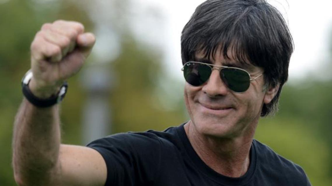 Germany's coach Joachim Loew during a victory parade of Germany's football national team in Berlin. (AFP)