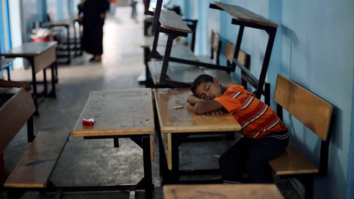 gaza school reuters