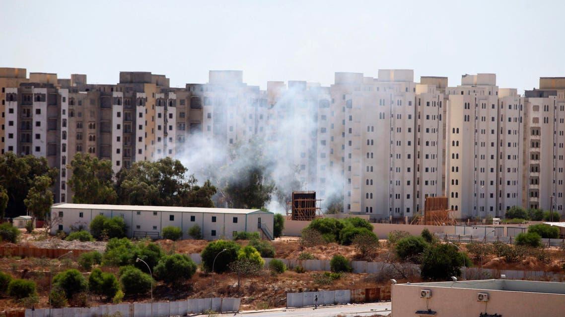 ليبيا قصف اشتباكات