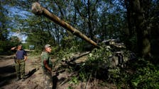 U.S. says Russia firing artillery across border at Ukrainian military