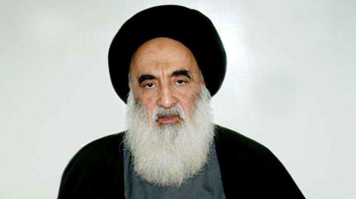 المرجع الشيعي الأعلى في العراق آية الله علي السيستاني