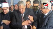 Egyptian prime minister gets light-headed during Friday prayers