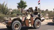 مصر : سیناء میں فوج کی کارروائی میں 19 دہشت گرد ہلاک