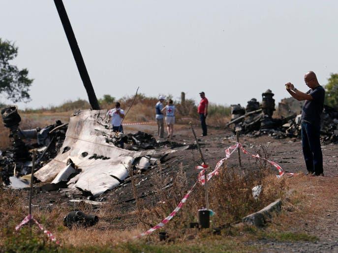 """روسيا: ضرر طفيف أصاب أجهزة تسجيل رحلة """"الماليزية"""""""