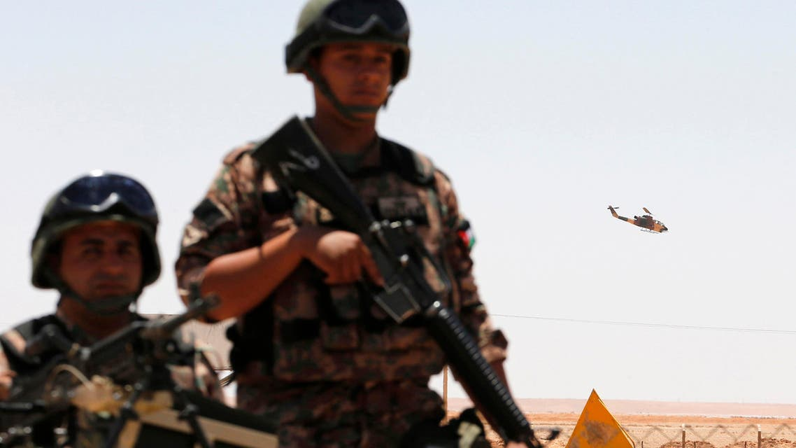 jordan border reuters