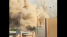 Video shows ISIS blowing up Prophet Sheth shrine in Mosul