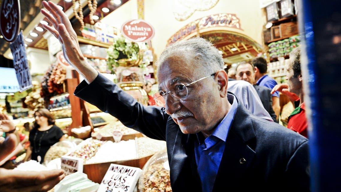Ekmeleddin Ihsanoglu Turkey AFP
