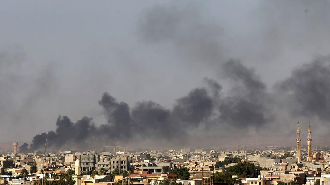 اشتباكات حول مطار ليبيا