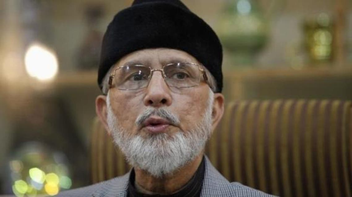 Facing money laundering charges back in Canada, Qadri landed in Pakistan six weeks ago in dramatic style. (File photo: Reuters)