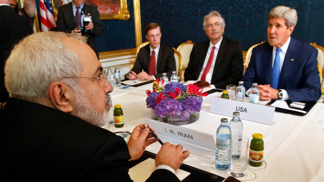 Zarif Kerry Vienna Reuters