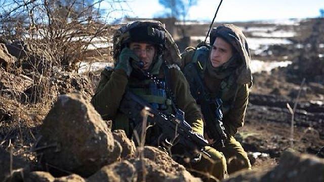 جنود اسرائيلييون على حدود غزة