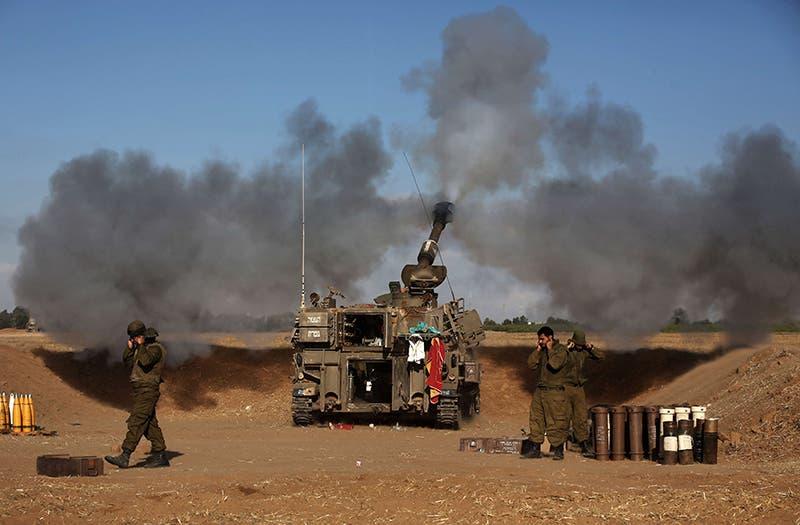 قصف اسرائيلي من المدفعية على غزة