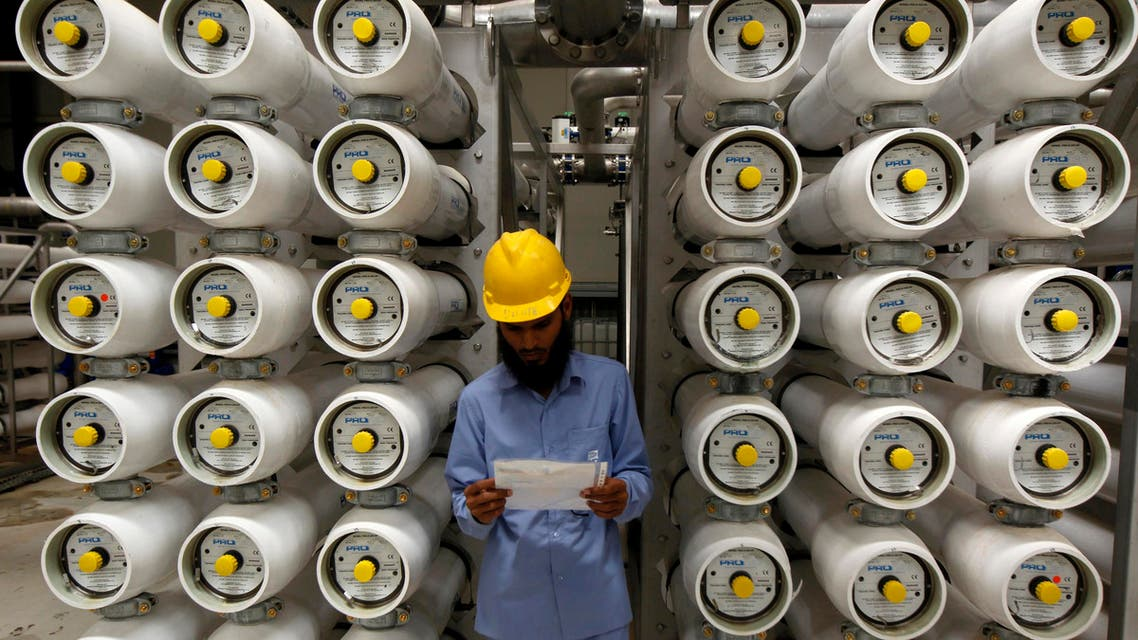 Desalination plant saudi arabia