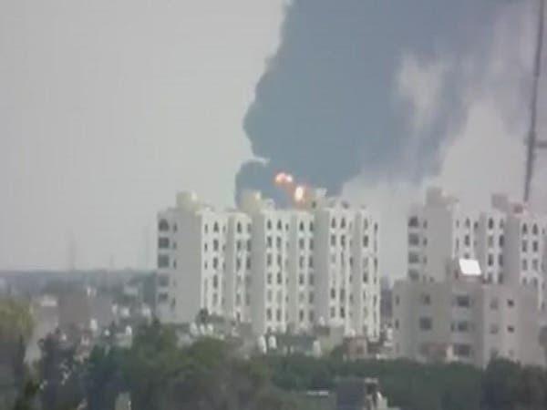 ليبيا.. الحكومة المؤقتة تحذر من كارثة بيئية بعد حرائق النفط