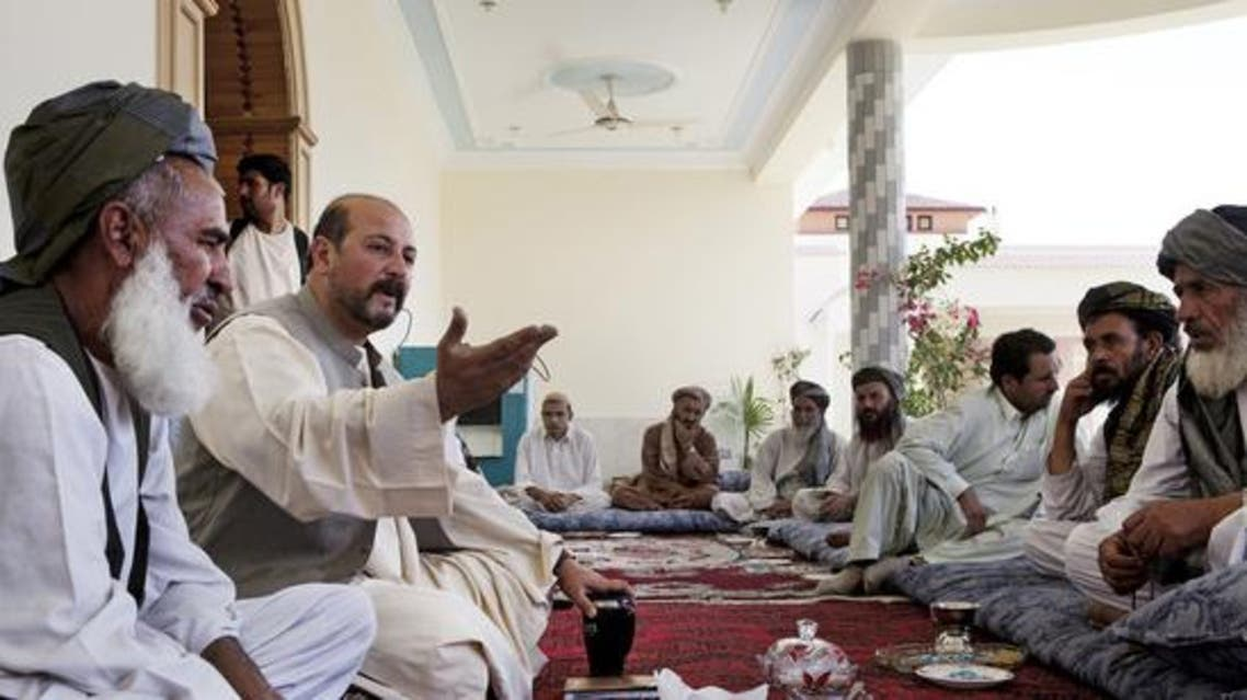 Hasmat Karzai. (The Washington Post/Getty Images)