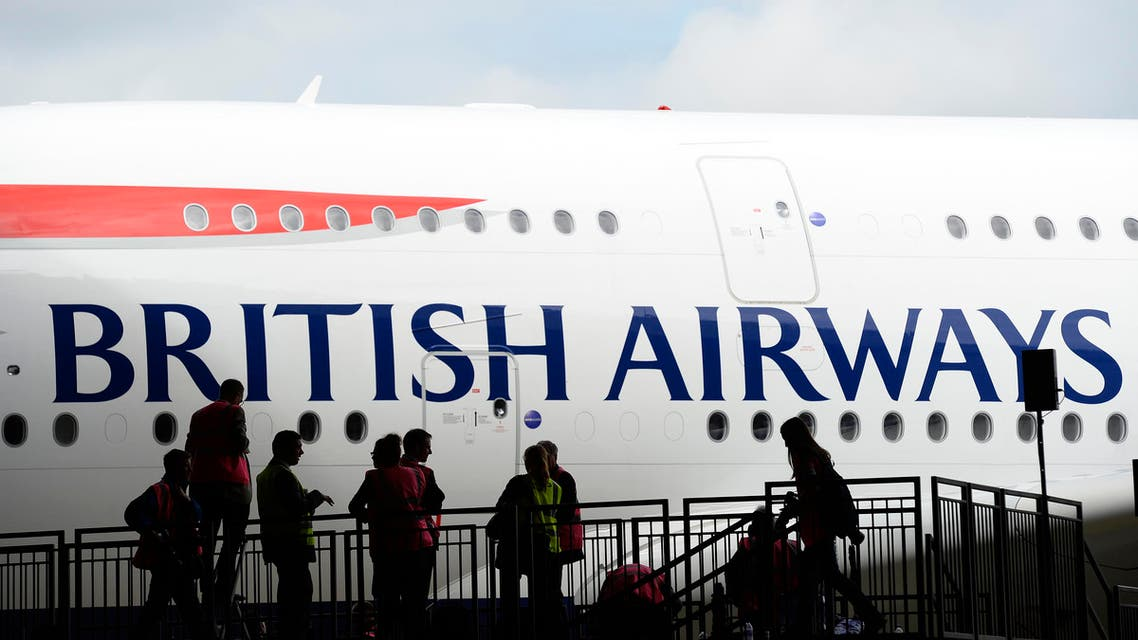 British Airways' new Airbus A380 arrives at a hanger after landing at Heathrow airport in London July 4, 2013. (Reuters)