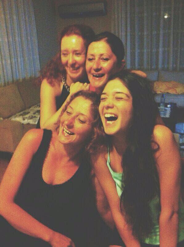turkish women laughing