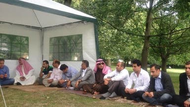 """خيمة """"عربية أهوازية"""" تصبح مزاراً للسياح في لندن"""