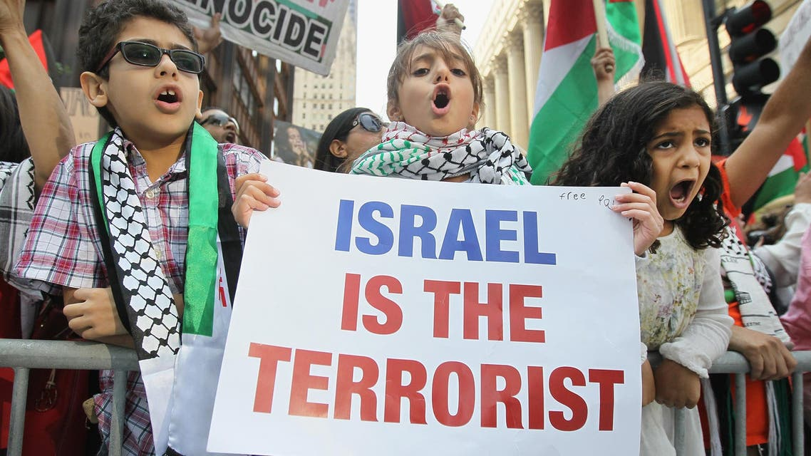 Protesters take sides in Chicago Gaza rally