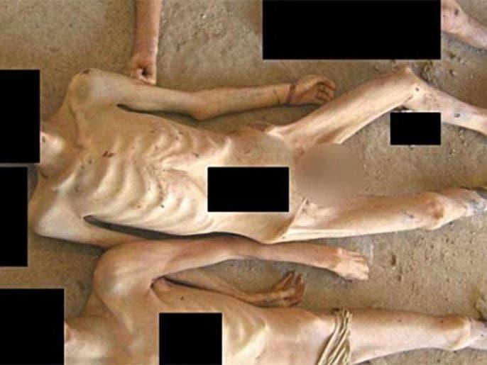 صور معتقلين ماتوا تحت التعذيب في سجون النظام
