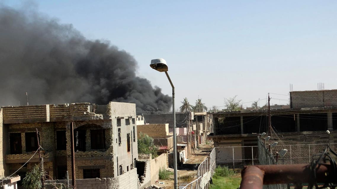 ISIS clash with iraq military forces