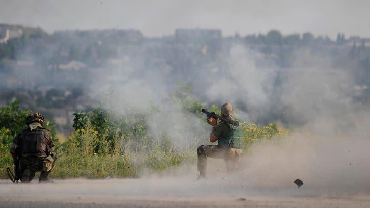 معارك شرق أوكرانيا تخلف 22 جريحاً مدنياً وعسكرياً
