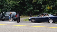 Americans mesmerized by mysterious 'Woman in black'