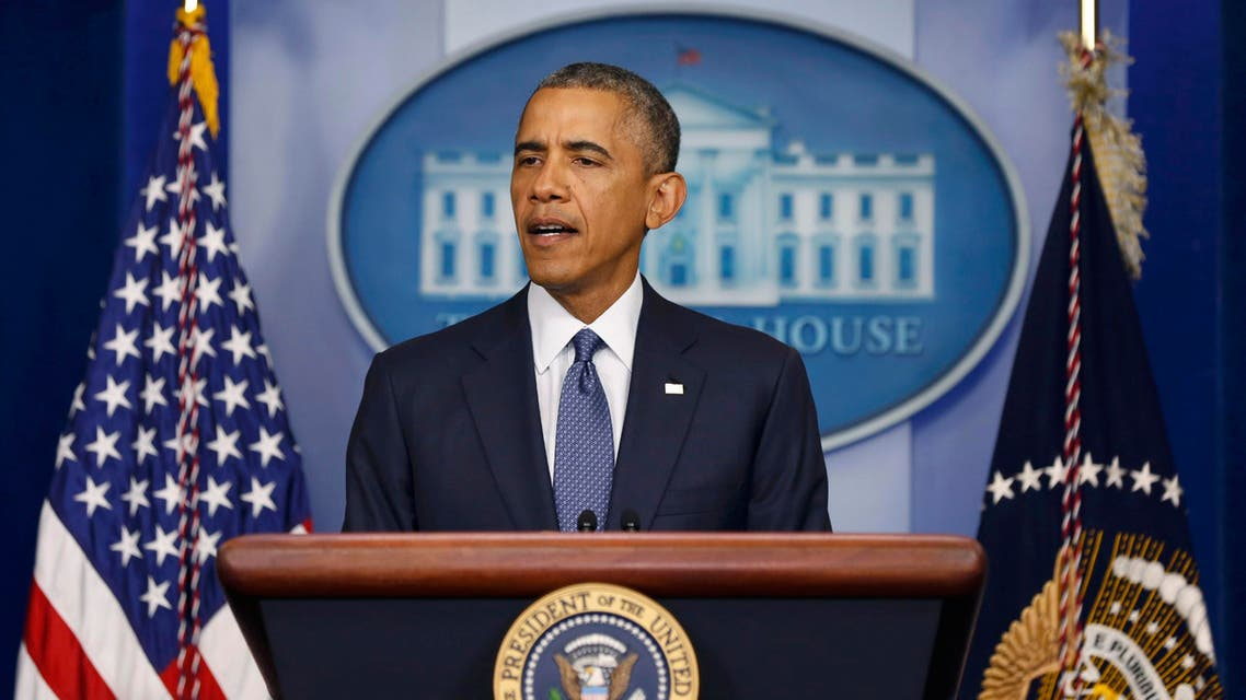 U.S. President Barack Obama makes a statement while at the White House in Washington, August 1, 2014. (Reuters)
