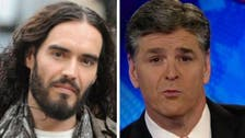 Russell Brand tells Fox News host: 'come back to humanity'