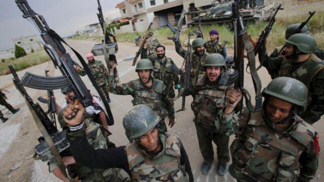 syria troops afp