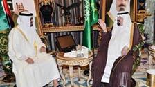 Abu Dhabi crown prince and Saudi king meet to discuss Gaza