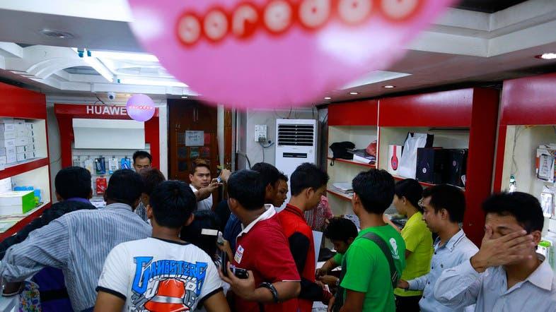 Qatar's Ooredoo opens Myanmar mobile market - Al Arabiya English